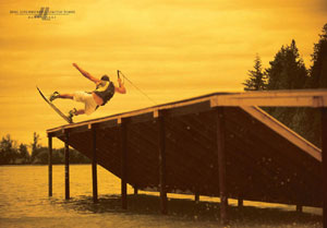 Danny Harf Wakeboarding Poster